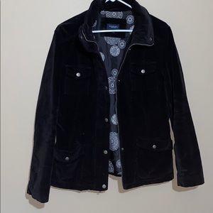 Sonoma Black Velour Jacket